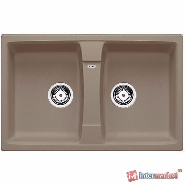 Кухонная мойка Blanco Lexa 8 серый беж (517340)