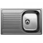 Врезная кухонная мойка Blanco Tipo 45S Compact 78х50см нержавеющая сталь