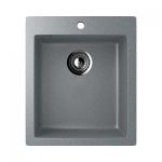 Врезная кухонная мойка EcoStone ES-14 309 (темно- серый)