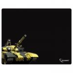 "Коврик для мыши Gembird MP-GAME13, рисунок- ""танк"", размеры 4373503мм, ткань+резина"