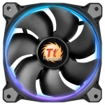 Кулер для кейса Thermaltake Riing 14 LED RGB Switch, Чёрный