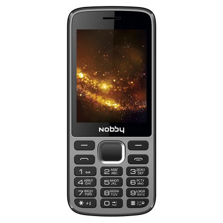 Мобильный телефон Nobby 300 черно-серый