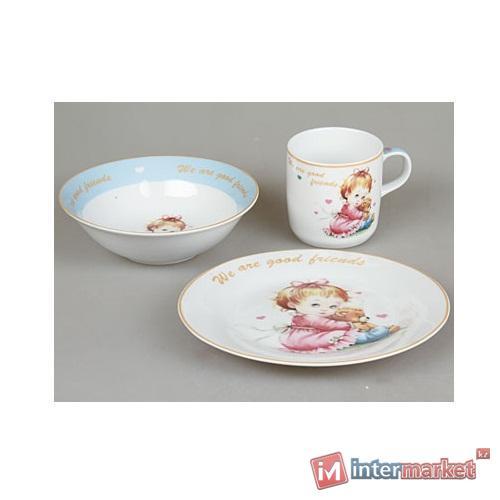 Набор детской посуды Rosenberg 8794 (3 пр.)