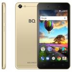"""Смартфон BQ-5206L Balance Gold 5.2""""/1280x720HD/MT6737V, 4 ядра/2Gb+16Gb/13Mp+8MP/5000 мАн/3G /"""