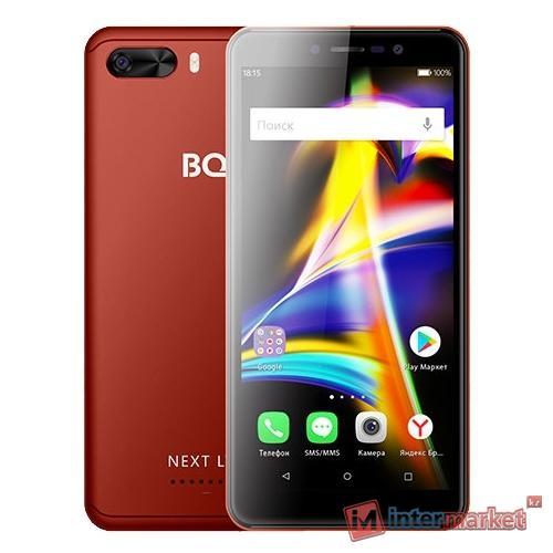 Смартфон BQ BQ-5508L Next LTE, Red