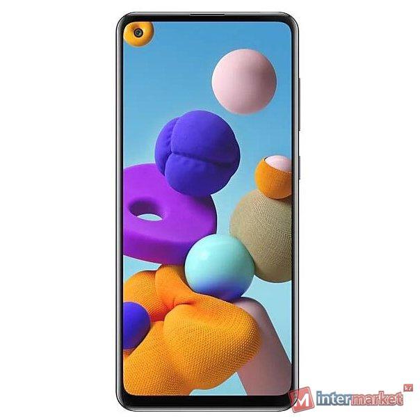 Смартфон Samsung Galaxy A21s, Black(458279)